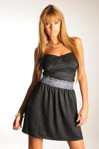 Damen Kleid Tunika Größe M in  schwarz