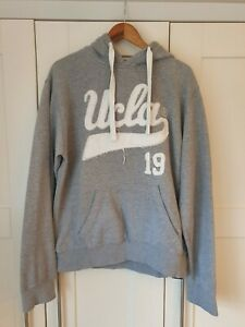 Mens UCLA Grey Hoodie X-Large