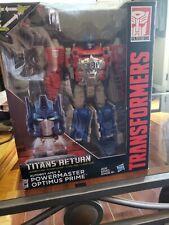 Transformers Titans Return Powermaster Optimus Prime Complete Leader CIB!!
