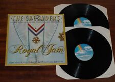 THE CRUSADERS With B.B. KING & Royal Philharmonic ROYAL JAM Live 2LP 1st UK NM