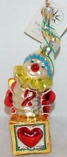 RADKO A LITTLE POP MUSIC Christmas Ornament 01-SP-79 AIDS Charity Ornament