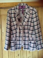 Fenn Wright Manson Tweed Jacket Size 14