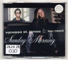 Vanessa St. James Lou Reed Maxi-CD Sunday Morning-RARE GERMAN STOCK-NO PROMO