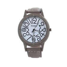 Smart Funky Watch Gray Clear Time Fashion Present Gift UK Delivery + Warranty