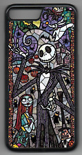 STAINED GLASS NIGHTMARE BEFORE CHRISTMAS Phone Case iPhone 4 5 6 7 8 X(A)