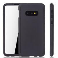 Samsung Galaxy S10e Custodia Cover per Cellulare Protettiva 360 Pellicola Nero