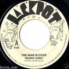 "jackpot 7"" : FRANKIE JONES-the war is over  (hear)"