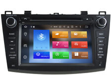 Android 8.0 Car GPS Navigation DVD Radio Stereo Wifi BT For Mazda 3 2010-2013