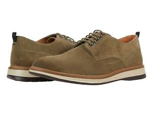 Men's Shoes Clarks CHANTRY WALK Casual Lace Up Oxfords 56346 OLIVE SUEDE