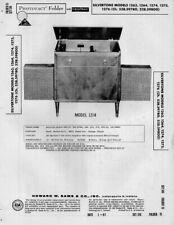 1961 SILVERTONE 1263 PHONOGRAPH AMP SERVICE MANUAL PHOTOFACT 1264 1274 1275 1276