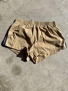Vintage Adidas Trefoil Shorts Swimming Trunks XL short Shorts Liner Euc