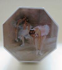 süßes Schmuckkästchen mit Spieluhr / Schatulle Ballerina Ballett achteckig, NEU