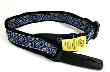 LOCK-IT Guitar Strap Retro Vintage Series Mariner Patented Strap Locking