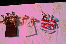 3 Finger Puppets - Dr. Seuss Plus 2 Chrisha!
