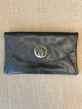 American Eagle Outfitters Silver Gray Clutch Purse Wallet Handbag Holiday Party