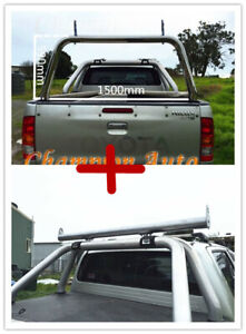 Ladder Rack with extension bar fit Toyota Hilux SR5 A-deck only 2015-2021 TUB
