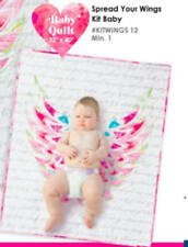 Moda SPREAD YOUR WINGS Digital BABY Quilt Kit  + binding + background + backing