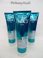 TIGI BED HEAD URBAN ANTI DOTES Recovery Shampoo 8.45 oz   3 tubes