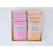 Daily Success Routine 4 Pack Planners, Organizer for Achieving 90 Day Goals