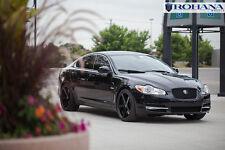 20x9 +40 20x10 +42 Rohana RC22 5x108 Black Rims Fit Jaguar XF Fxr 2011 Staggered