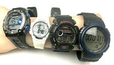 Lot Of 4 Watches Armitron Pro sport, Marathon, Casio G Shock All Working  02W20