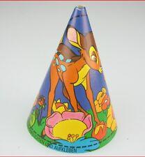 HÜTCHEN -- Bambi - Kinder SCHOKOLADE Folie - noch ORIGINAL zusammengeklebt  1981