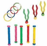 Diving Rings Sticks Balls Swimming Pool Underwater Games Toys Swim Kids Dive