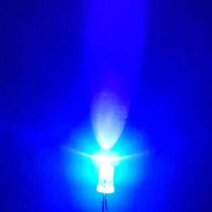 100PCS UV LED Diode 5mm Ultraviolet Diodes UV Diodo Purple Lamp Lampada 405nm