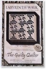 The Guilty Quilter Labyrinth Walk Pattern FREE US SHIPPING