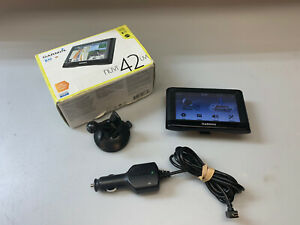 """GARMIN NUVI 42LM   Lifetime US MAP Updates   4.3"""" GPS   Tested Working Well"""