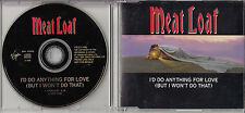 MEAT LOAF I'd Do Anything For Love (But I Won't Do That) 1993 UK 2-trk promo CD