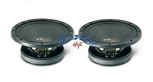 IMPACT HS1050 COPPIA CASSE MIDWOOFER MIDRANGE 900W  25cm ALTA EFFICIENZA SPL