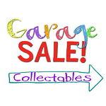 Garage Sale Collectables
