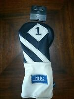 Callaway Vintage Driver Headcover Black White 5515196 Brand New ** Nice **