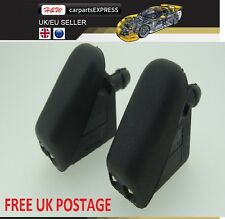 2 x Windscreen Jet Spray Washer Nozzles For FORD FIESTA 2001 - 2012