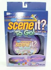 Disney Scene It? To Go the DVD Family Trivia Travel Game New in Box