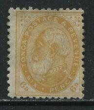 Tonga 1892 6d unused no gum
