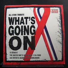 Artists Against AIDS Worldwide - What's Going On LP VG+ 44 79670 Promo Record