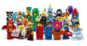 Lego 71021 Collectable Minifigures Series 18 Full Set of 17 New & Sealed (MISP)
