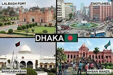 SOUVENIR FRIDGE MAGNET of DHAKA BANGLADESH