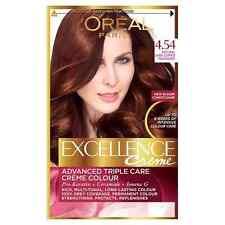 L'Oreal Paris Excellence Hair Colour 4.54 Natural Dark Copper Mahogany
