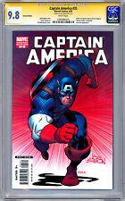 CAPTAIN AMERICA #25 CGC-SS 9.8 VARIANT *SIGNED BY CREATOR JOE SIMON* 1913-2011