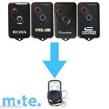 Boss Compatible Garage Door Remote Model 2211-L Can 3400102156TA FOC ID N6U303KT