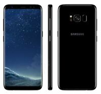 NEW Samsung Galaxy S8 (Unlocked) G950F Midnight Black 64 GB - Android Smartphone