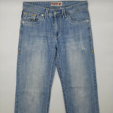 True Religion Joey W30 L33 blau Damen Designer Denim Jeans Hose Mode Chic VTG