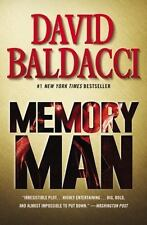 Memory Man by David Baldacci (2015, Paperback) Signed by Author