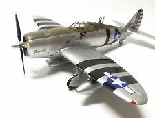 Easy Model 1/72 US P-47D Flown by William D.Dunham,Southwest Pacific,1943 #36421