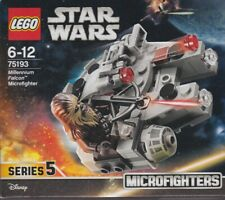 LEGO STAR WARS 75193 MICROFIGHTER SERIE 5 MILLENIUM FALCON with CHEWBACCA new