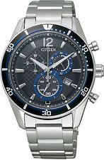Japan Citizen Collection VO10-6741F Alterna Eco-Drive Solar Chronograph Watch