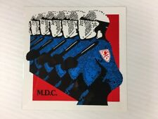 MDC - Album Cover Logo Sticker Vinyl 3.5 x 4.5 Hardcore Punk - BRAND NEW